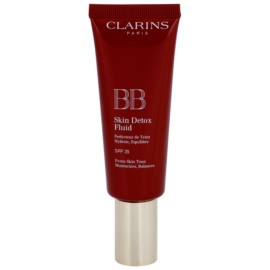 Clarins Face Make-Up BB Skin Detox Fluid crema BB hidratante SPF 25 tono 02 Medium 45 ml