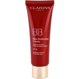 Clarins Face Make-Up BB Skin Perfecting ВВ крем за безупречен изравнен тен на кожата SPF 25 цвят 00 Fair 45 мл.