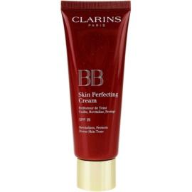 Clarins Face Make-Up BB Skin Perfecting Cream BB krema za brezhiben in enoten videz kože SPF 25 odtenek 01 Light  45 ml