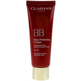 Clarins Face Make-Up BB Skin Perfecting ВВ крем за безупречен изравнен тен на кожата SPF 25 цвят 02 Medium  45 мл.