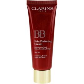 Clarins Face Make-Up BB Skin Perfecting Cream BB krema za brezhiben in enoten videz kože SPF 25 odtenek 03 Dark  45 ml