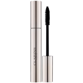Clarins Eye Make-Up Supra Volume rimel pentru volum extreme și roșu intens culoare 01 Intense Black 8 g