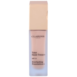 Clarins Face Make-Up Everlasting maquillaje fluido de larga duración  SPF 15 tono 107 Beige  30 ml