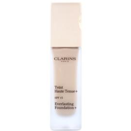Clarins Face Make-Up Everlasting fard lichid de lunga durata SPF 15 culoare 108 Sand  30 ml