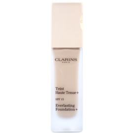 Clarins Face Make-Up Everlasting maquillaje fluido de larga duración  SPF 15 tono 108 Sand  30 ml