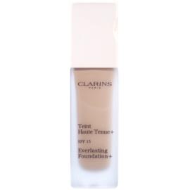 Clarins Face Make-Up Everlasting Foundation+ hosszan tartó folyékony make-up SPF15 árnyalat 110,5 Almond  30 ml