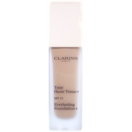 Clarins Face Make-Up Everlasting maquillaje fluido de larga duración  SPF 15 tono 110,5 Almond  30 ml