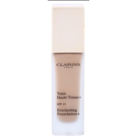 Clarins Face Make-Up Everlasting maquillaje fluido de larga duración  SPF 15 tono 112 Amber  30 ml