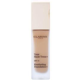 Clarins Face Make-Up Everlasting Foundation+ hosszan tartó folyékony make-up SPF15 árnyalat 112,5 Caramel  30 ml