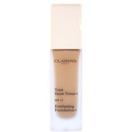 Clarins Face Make-Up Everlasting fard lichid de lunga durata SPF 15 culoare 114 Cappuccino  30 ml