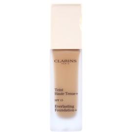 Clarins Face Make-Up Everlasting Foundation+ hosszan tartó folyékony make-up SPF15 árnyalat 114 Cappuccino  30 ml