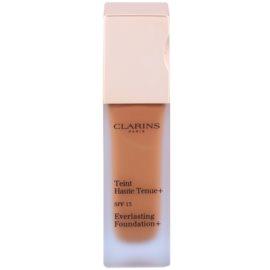 Clarins Face Make-Up Everlasting Foundation+ hosszan tartó folyékony make-up SPF15 árnyalat 115 Cognac  30 ml