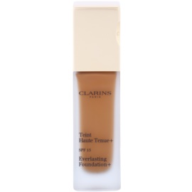 Clarins Face Make-Up Everlasting Foundation+ hosszan tartó folyékony make-up SPF15 árnyalat 117 Hazelnut  30 ml