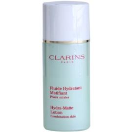 Clarins Truly Matte zklidňující a hydratační fluid proti lesknutí pleti a rozšířeným pórům  50 ml
