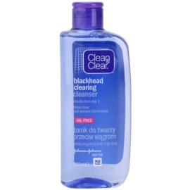 Clean & Clear Blackhead Clearing pleťová voda proti černým tečkám  200 ml