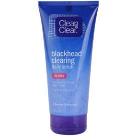 Clean & Clear Blackhead Clearing čisticí peeling proti černým tečkám  150 ml
