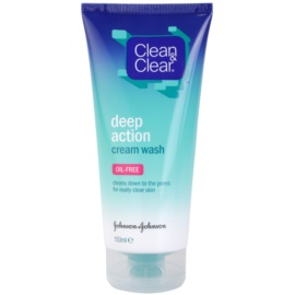 Clean & Clear Deep Action глибоко очищуюча кремова емульсія для обличчя   150 мл
