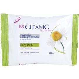Cleanic Intimate chusteczki do higieny intymnej  z rumiankiem  10 szt.