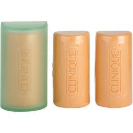 Clinique 3 Steps Reinigungsseife für fettige und Mischhaut  3x50 g