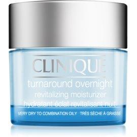 Clinique Turnaround revitalisierende Creme für die Nacht für trockene und Mischhaut  50 ml