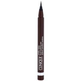 Clinique Pretty Easy oční linky odstín 02 Brown  0,67 g