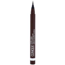 Clinique Pretty Easy oční linky odstín 02 Brown  0,67 g