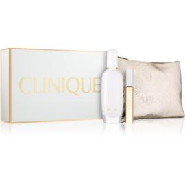 Clinique Aromatics In White zestaw upominkowy II.  woda perfumowana 50 ml + woda perfumowana roll-on 10 ml + torebka kosmetyczna