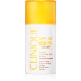 Clinique Sun mineralisches Bräunungsfluid für das Gesicht SPF50  30 ml