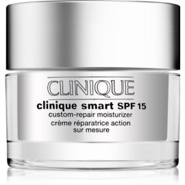 Clinique Clinique Smart creme hidratante diário antirrugas para a pele seca e mista SPF 15  50 ml