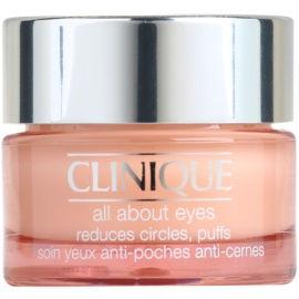 Clinique All About Eyes oční krém proti otokům a tmavým kruhům (All Skin Types) 15 ml