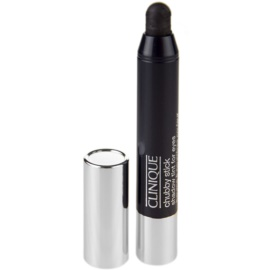Clinique Chubby Stick Shadow Tint for Eyes krémové oční stíny odstín 08 Curvaceous Coal 3 g