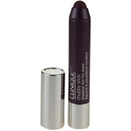 Clinique Chubby Stick Shadow Tint for Eyes krémové oční stíny odstín 11 Portly Plum 3 g