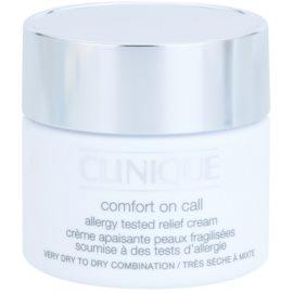 Clinique Comfort on Call creme hidratante para pele seca a muito seca  50 ml