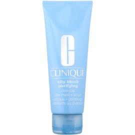 Clinique Clean маска-пілінг для шкіри обличчя для глибокого очищення шкіри  100 мл