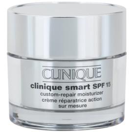 Clinique Clinique Smart™ crema anti-rid hidratanta pentru ten uscat și combinat crema anti-rid hidratanta pentru ten uscat și foarte uscat SPF 15  50 ml