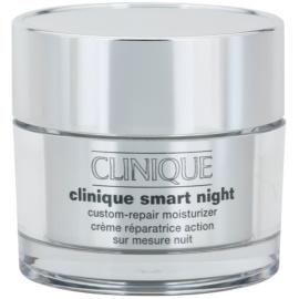 Clinique Clinique Smart™ hydratační noční krém proti vráskám pro suchou a smíšenou pleť  50 ml