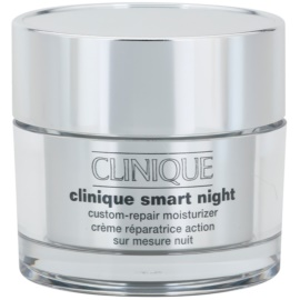 Clinique Clinique Smart™ creme hidratante de noite antirrugas para pele seca e mista  50 ml