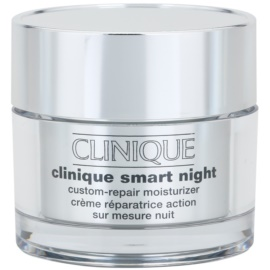 Clinique Clinique Smart™ crema de noche hidratante antiarrugas para pieles mixtas y grasas  50 ml