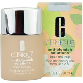 Clinique Anti-Blemish Solutions Flüssiges Make Up für problematische Haut, Akne Farbton 01 Fresh Alabaster 30 ml