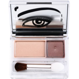 Clinique All About Shadow™ Duo сенки за очи  цвят 01 Like Mink  2,2 гр.