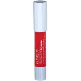 Clinique Chubby Stick Intense hydratisierender Lippenstift Farbton 16 Plumped Up Poppy  3 g
