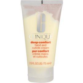 Clinique Deep Comfort™ krém na ruce pro všechny typy pokožky  75 ml