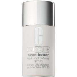 Clinique Even Better™ Dark Spot Defense schützende Tönungscreme gegen Pigmentflecken SPF 50  30 ml