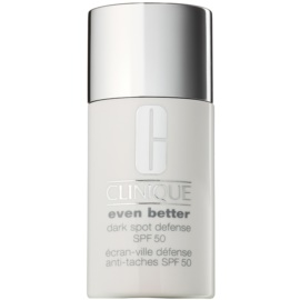 Clinique Even Better™ Dark Spot Defense schützende Tönungscreme gegen Pigmentflecken SPF 50  30 ml