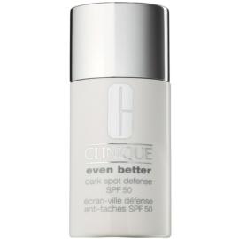 Clinique Even Better™ Dark Spot Defense ochranný tónovací krém proti pigmentovým skvrnám SPF 50  30 ml