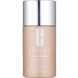 Clinique Even Better™ Make-up tekutý make-up pre suchú a zmiešanú pleť odtieň WN 118 Amber 30 ml