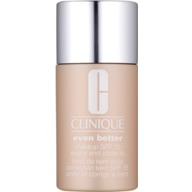 Clinique Even Better™ Make-up tekoči puder za suho in mešano kožo odtenek WN 118 Amber 30 ml