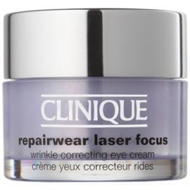 Clinique Repairwear Laser Focus™ ránctalanító szemkrém minden bőrtípusra  15 ml