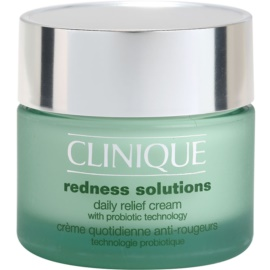Clinique Redness Solutions crema de día calmante  para todo tipo de pieles  50 ml
