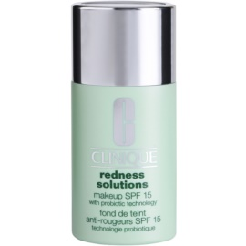 Clinique Redness Solutions maquillaje líquido SPF 15 tono 03 Calming Ivory 30 ml